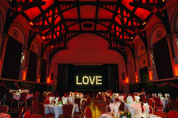 Love in the Victoria Hall!