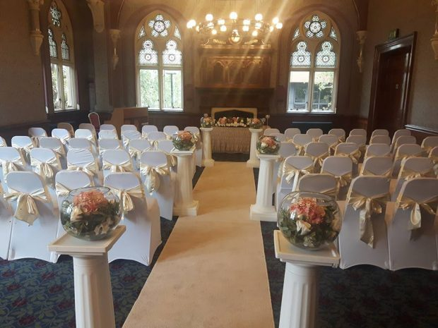 Nelson Room - marriage ceremony