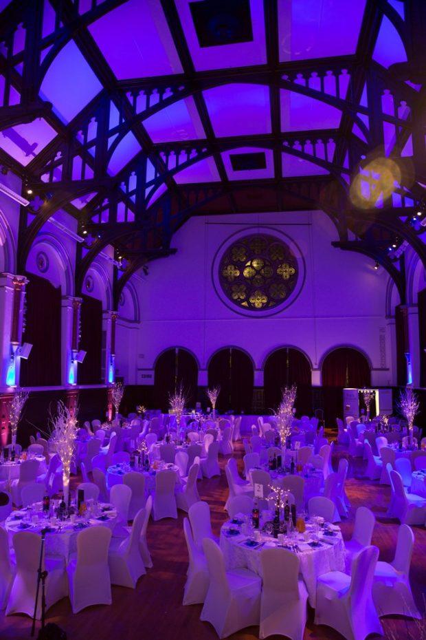 Victoria Hall dining