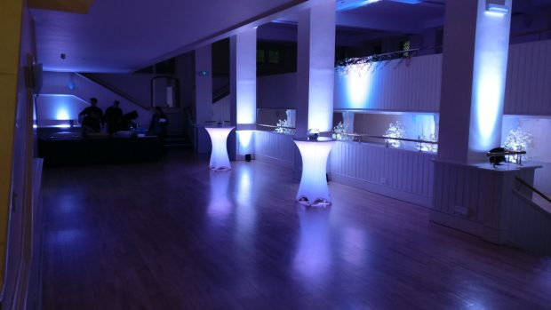 Princes Hall Reception Lighting