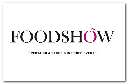 Food Show logo white background with black lettering